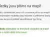 Google Mapy Beta výsledky hledání