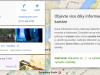 Google Mapy Beta, informační karty